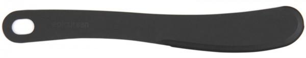 Buttermesser, schwarz, 21x3.3 cm