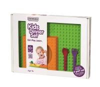 Lego 4-tlg. Geschenkset in GB, grün/orange/violett/rot