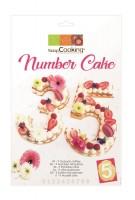 Schablonen Set für Zahlen 0-9