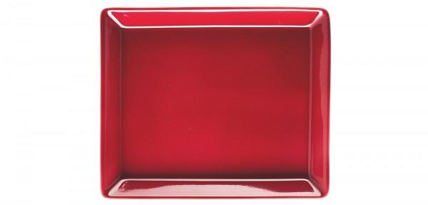 TRIC/amarena Platte rechteckig 12x15cm