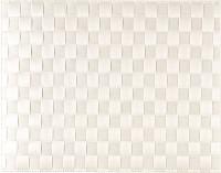 PP-Tischset gewebt, eckig, weiss, 30x40 cm