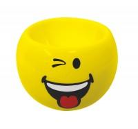 Smiley Eierbecher Emoticon zwinkern, Ø 6cm