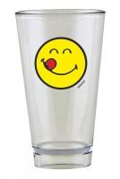 Smiley Glas, Emoticon yummy 30 cl