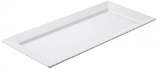 2x Auflaufform rechteckig, 46.5 cm, weiss