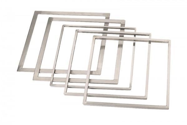 Rahmen zum ebnen von Torten 33.7x33.7cm H: 10mm