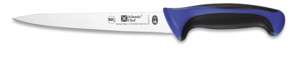 Atlantic Chef Filettiermesser flexibel 21cm blau