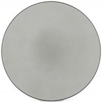Equinoxe Teller flach, Ø 26 cm, H: 3 cm, Pfeffer