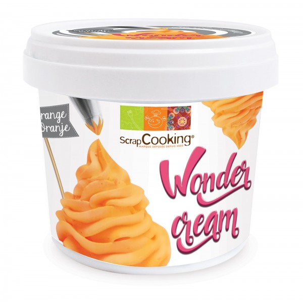 Wonder Cream orange, Vanillegeschmack, 150g