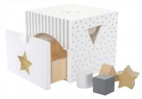 JaBaDaBaDo Sortierbox W7155 weiss 10x15x15cm