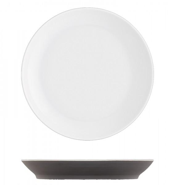 Omnia Frühstücksteller dunkelbraun ø19cm