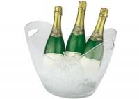 Wein- / Sektkühler, ca. 35 x 27cm, H 25.5cm