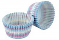 "Cupcake Formen ""Icing"", blau, 32 Stk."