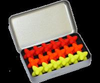 Craggles Geschenkbox - gelb & orange & rot