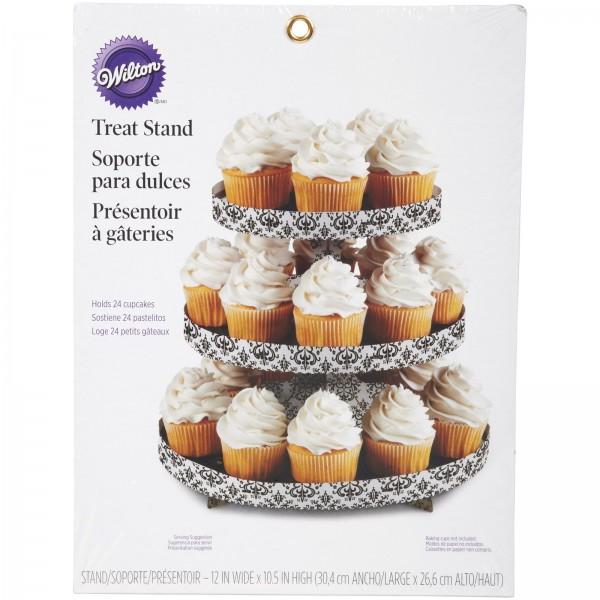 Cupcake Ständer Damast 27x30cm