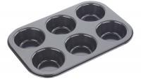 Backform 6er Muffin, 26.5x18x3 cm, Antihaft
