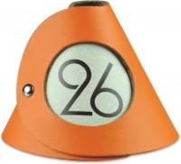 Tischnummer orange 10er-Set