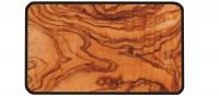 Osmos Servierbrett Olivenholz Optik/schwarz 28×20×0.4 cm
