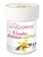 Natur Aroma-Farbpulver, Vanille, 15 g
