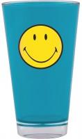 Smiley Klassik Becher aqua blau 33 cl