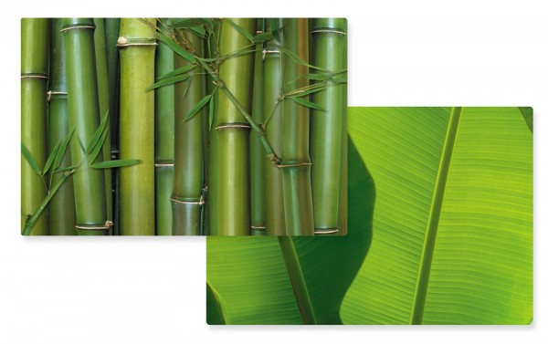 Bamboo Tischset doppelseitig 45x30 cm
