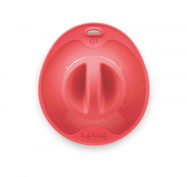 Silikondeckel, rot 25 cm