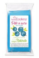 Aromatisierte Zuckerpaste blau - Heidelbeere 250g