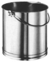 Zylindrischer Eimer 12 lt o/Deckel