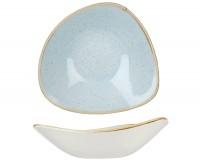 Stonecast Duck Egg Hellblau Triangel Teller tief 18.5cm