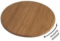 Holzplatte 35cm H: 3.5cm, drehbar