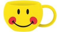 Smiley Teetasse, Emoticon Blush 30cl