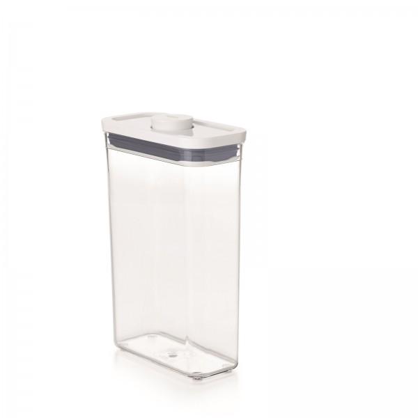 POP 2.0 Behälter schlank rechteckig, 16x8x24 cm, 1.8 l