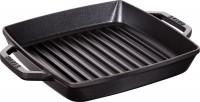 American Grillpfanne quadr., schwarz, 23x23x4 cm
