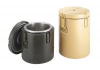 Isolierter Behälter gelb ohne Einsätze Inhalt: 33 lt.