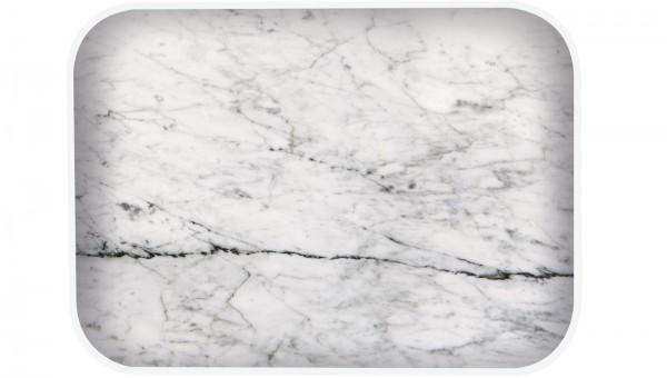 Osmos Tablett Marmor Optik/weiss 28×20×1.1 cm