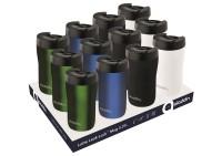 Latte Leak-Lock™ Display mit 12 Mugs (3 Stück pro Farbe)