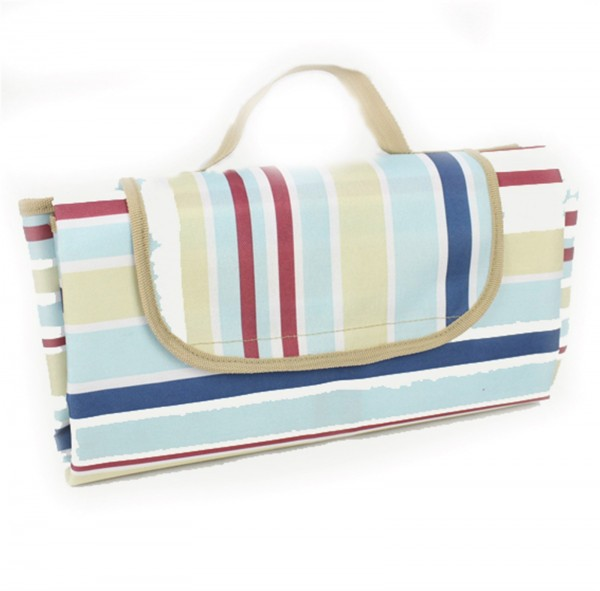 Picknickdecke blau gestreift, PP