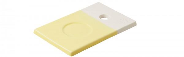 Color Lab Tablett rechteckig, 14x9x0.8 cm, zitrus