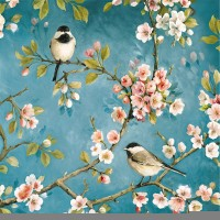 Blossom Servietten 20 Stk., 33x33 cm