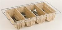 Besteckbehälter GN 1/1, Buffet 53 x 32.5 x 10 cm