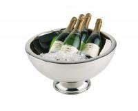 Champagnerkühler doppelwandig, ca. Ø 44 cm, H 24 cm