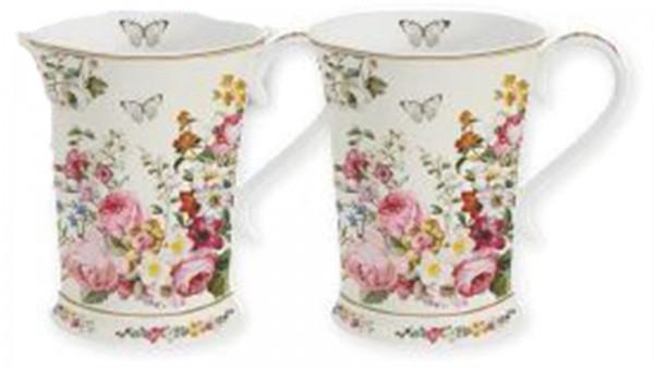Blooming opulence 2er Set Porzellanbecher, 270 ml