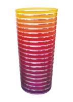 Swirl Becher 60cl, regenbogen warm