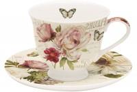 Fleurs Tee-Obertasse m. Untertasse, 200 ml