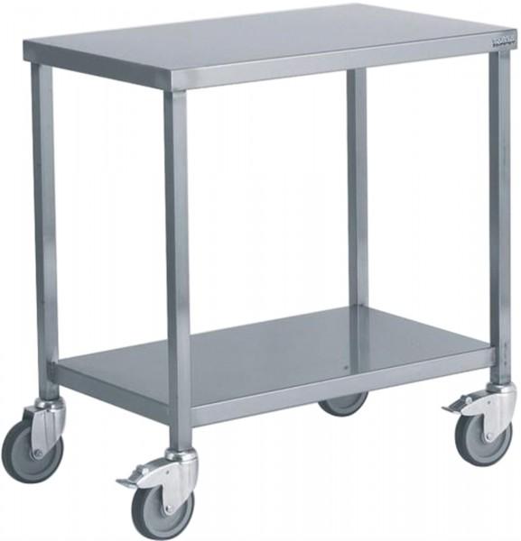 Rollwagen mit Zwischentablar h: 75 cm 67x50cm