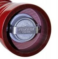 1x Rote Peugeot Pfeffermühle PARIS mit 2 Pfeffersorten