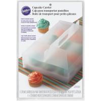 Cupcake Transportbox für 12 Stück, transparent