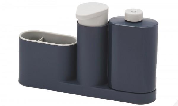 SinkBase Plus 3-tlg., grau, 27x6x16.5 cm
