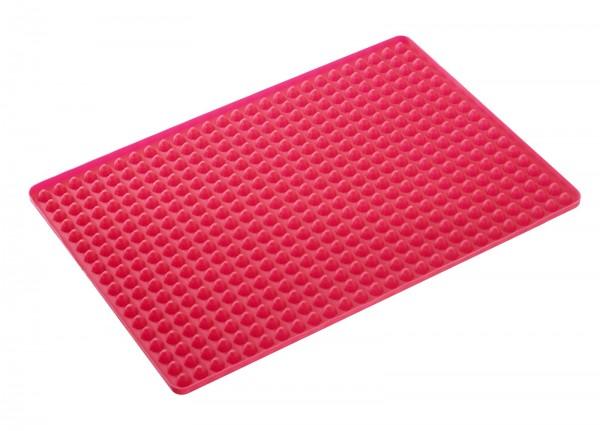 Brat-und Backmatte, rot, 40x28 cm