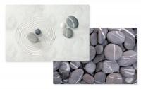 Dark Stones/Zen Tischset doppelseitig 45x30 cm
