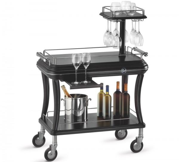 Classica Servierwagen Wein/Digestif mit Glashalter 92x52cm